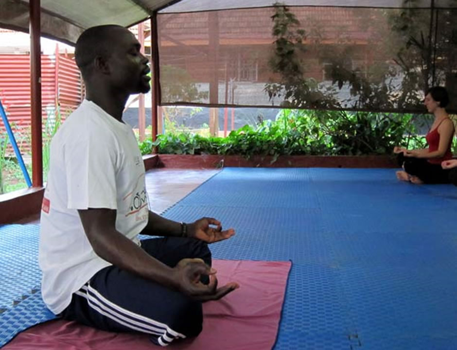 Embrace Yoga in Uganda