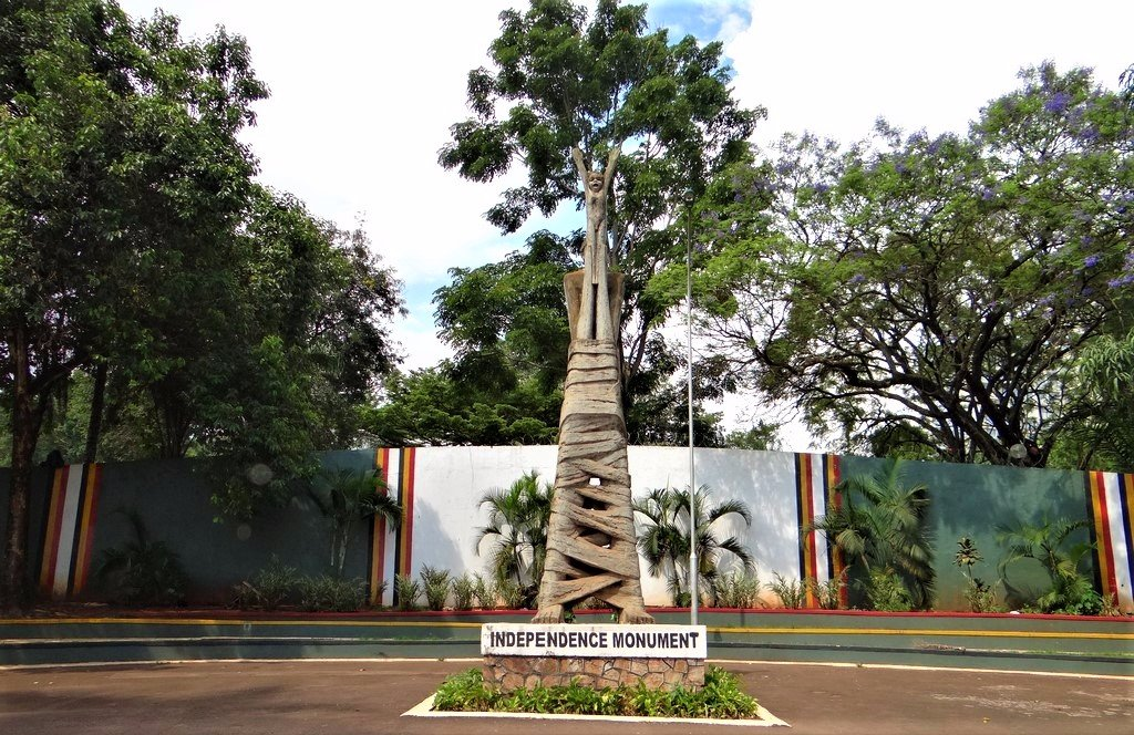 Independence Monument in Kampala