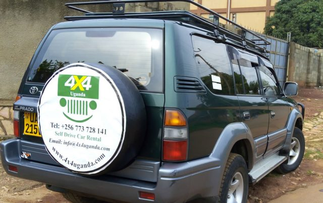 4x4 Jeep Car Hire in Kampala